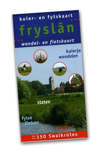 Kuier- en fytskaart Fryslân