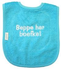 Slabke 'Beppe har boefke!'