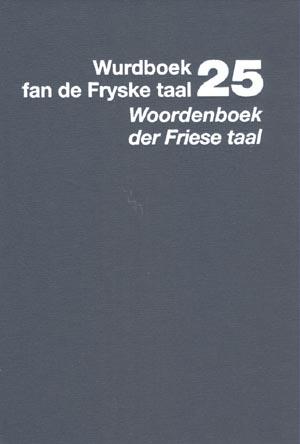 Wurdboek fan de Fryske Taal, diel 25