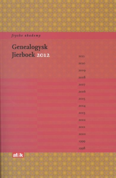 Genealogysk Jierboek 2012