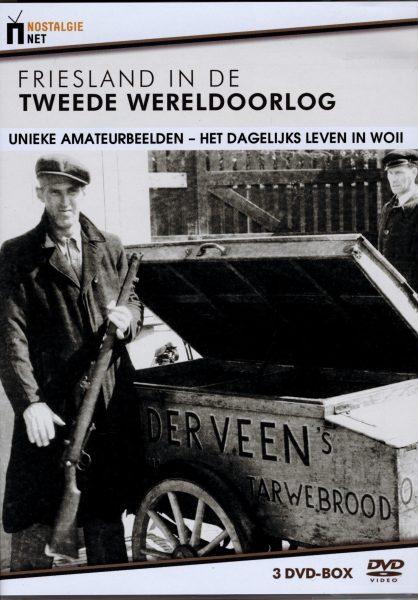Friesland in de Tweede Wereldoorlog 3 DVD box