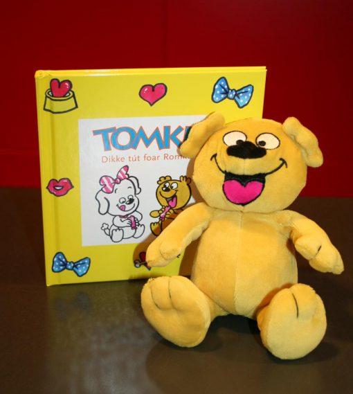 Romke knuffel én Tomke leart fytsen