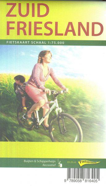 Fietskaart Zuid Friesland