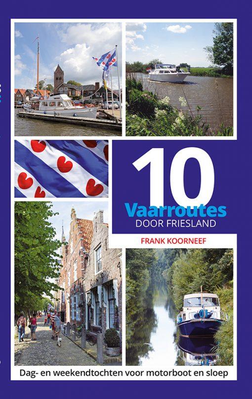 10 vaarroutes door Friesland