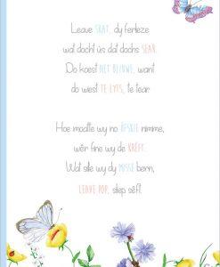 friese rouwkaart