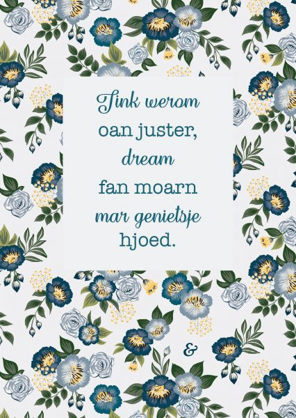 Tink werom oan juster