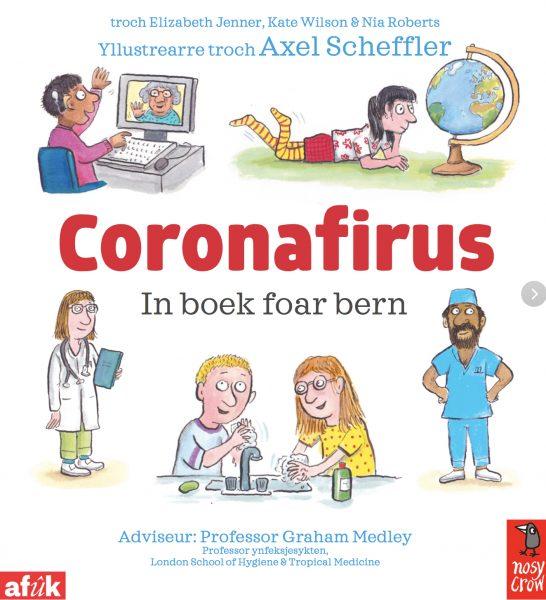 coronavirus-boek foar bern