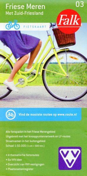 Fietskaart Friese Meren