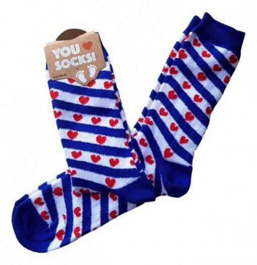 Fryske flagge sokken