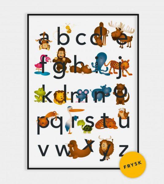 Poster bistealfabet